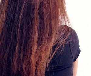 שיער יבש