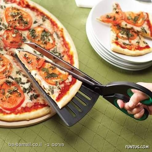דברים מדליקים, המצאות, גאדג'ט, פיצה, חיתוך פיצה