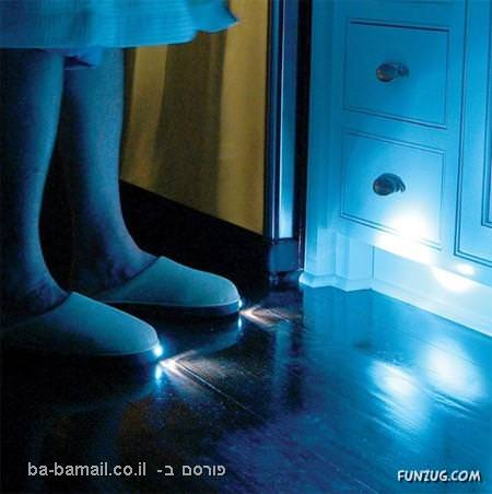 המצאות, גאדג'ט, אור, נעלי פנס