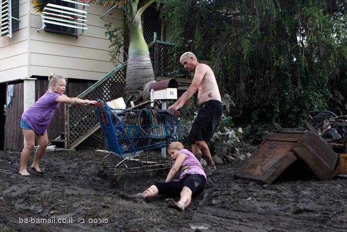 שיטפון באוסטרליה