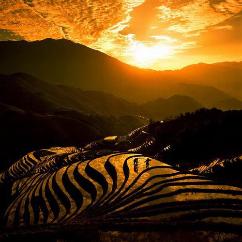 השמיים של סין - נוף מרהיב!