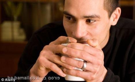 מחקר חדש: קפה מאט פעילות מוחית אצל גברים
