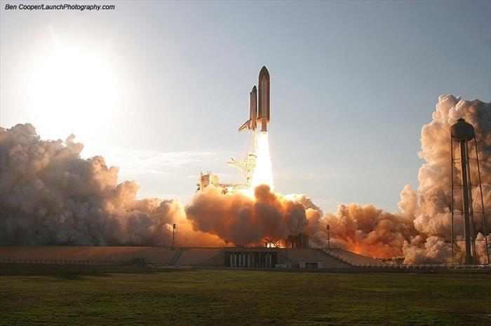 תמונות מדהימות של שיגור לחלל