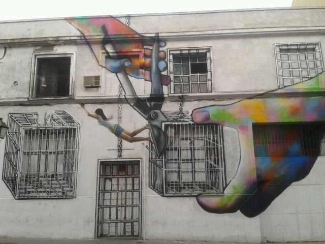 ציורים מדהימים של אומנות רחוב