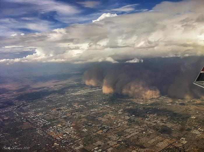 תמונות מדהימות של ענני חול