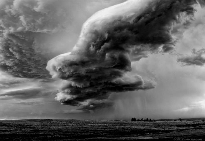 Incredible storm clouds