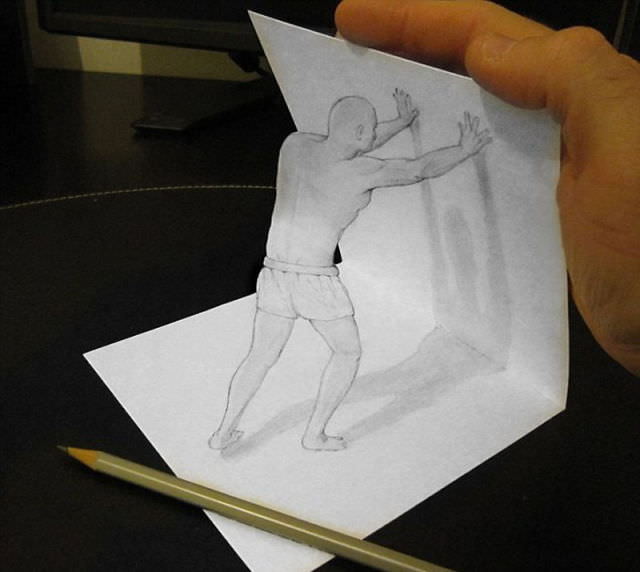 3d pencil drawings