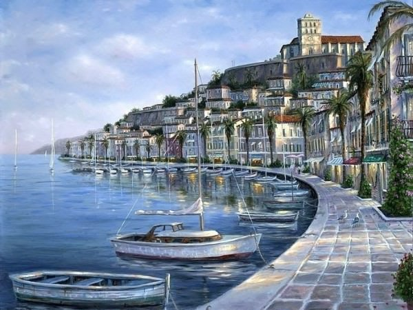 Beautiful oil paintings