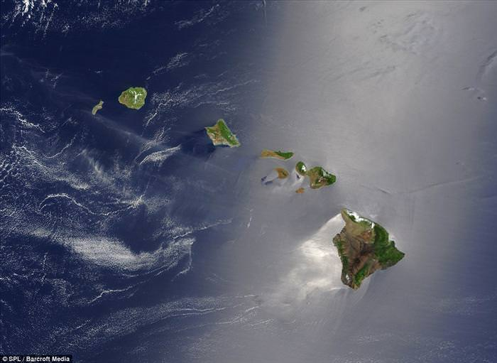 islands from space
