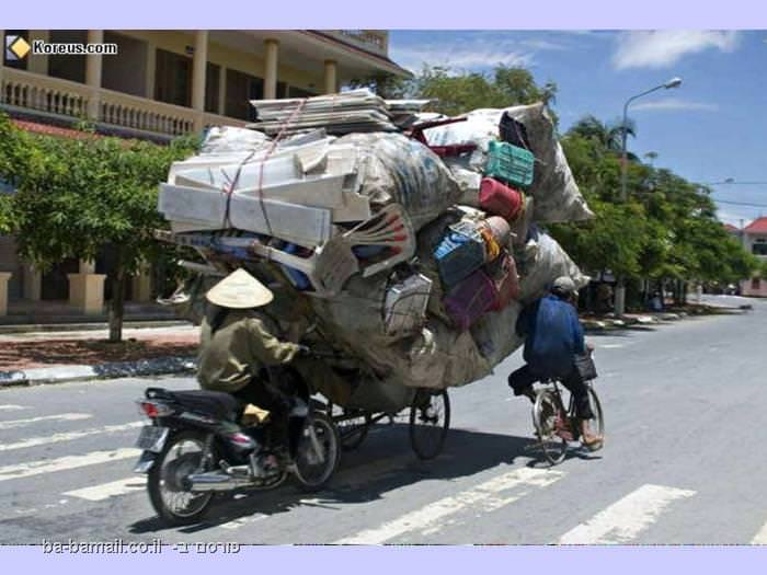 העמסה על 3 אופניים