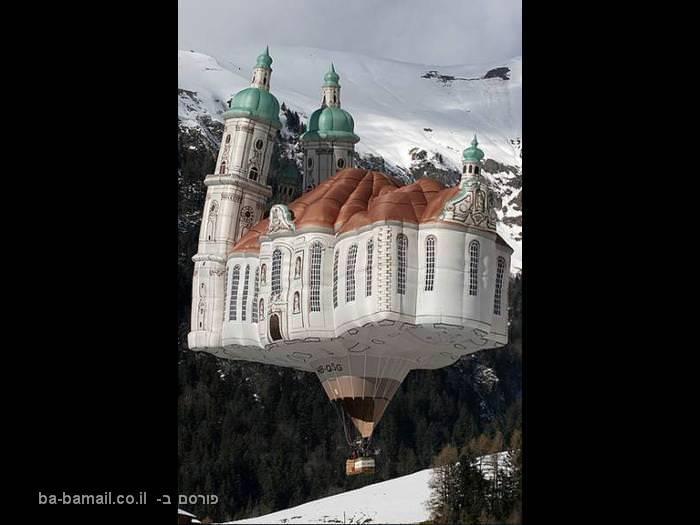 מופע מרהיב של כדורים פורחים בשמי גרמניה
