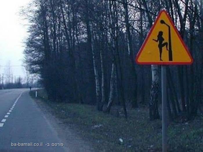 שלטים אמיתיים לחלוטין שיפילו אתכם מצחוק