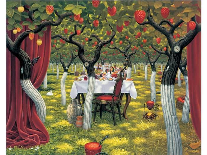 אומנות האבסורד של הצייר יאצק ירקה