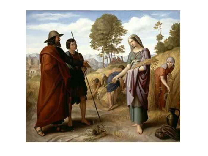 מגילה בעובי הקורה - סיפורה של רות